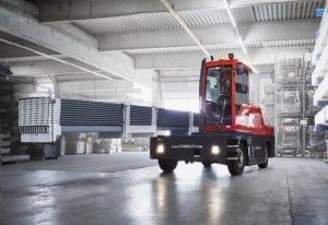 Sideloading Forklift